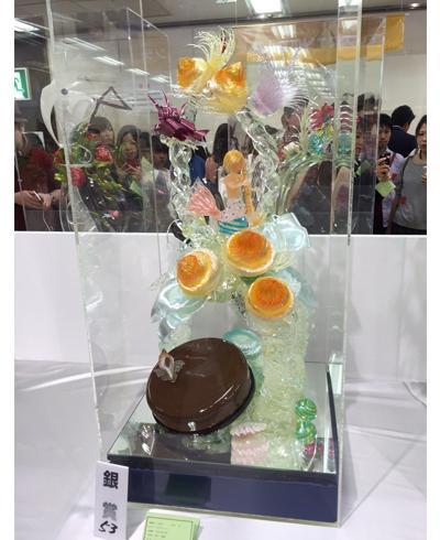 2014年ジャパンケーキショー味と技のピエスモンテ 銀賞